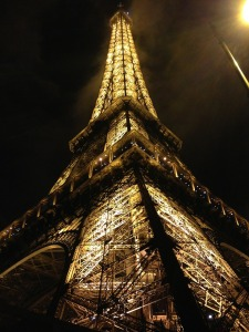 Photo from Pixaby.com http://pixabay.com/en/eiffel-tower-paris-lights-france-594541/